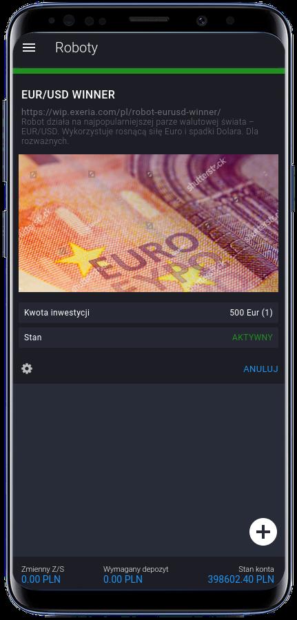 EUR/USD investing robot