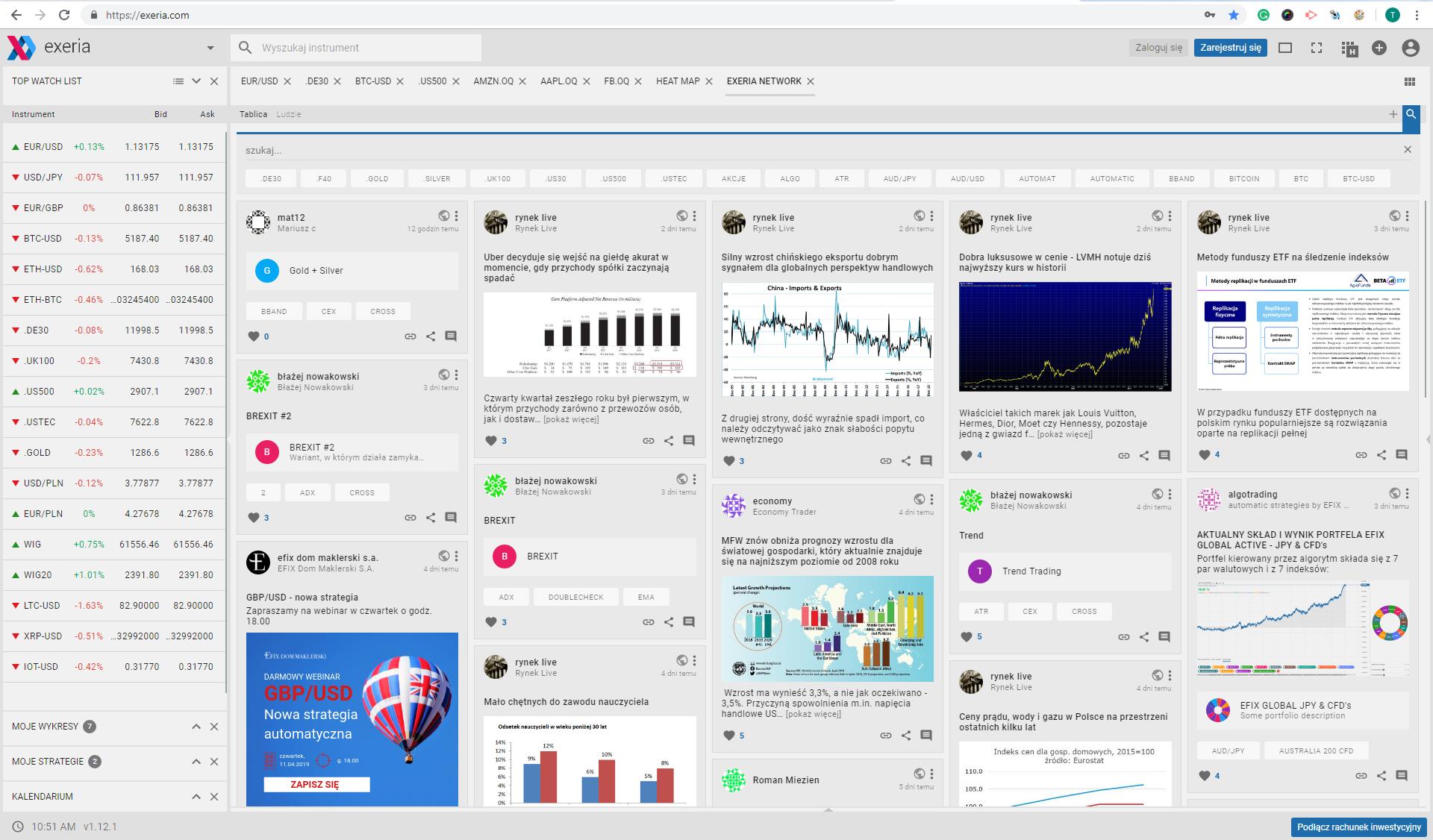 Exeria Network, sieć społecznościowa, social network, inwestowanie